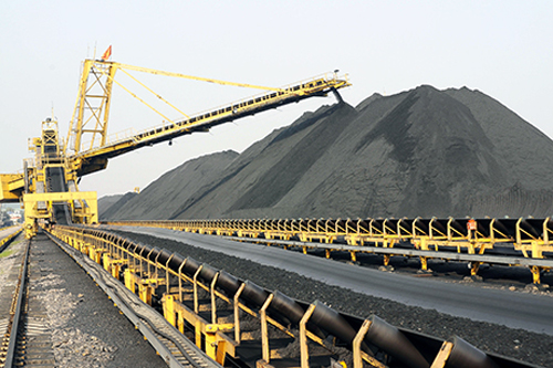 Băng tải than - Coal conveyor