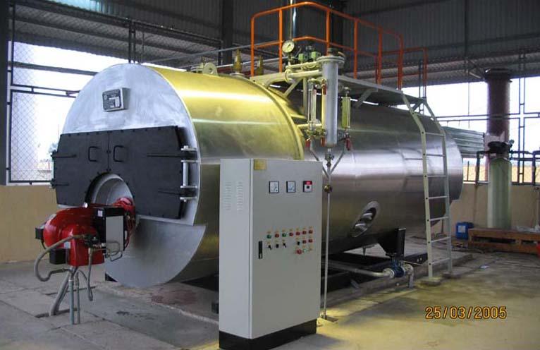 Lò hơi đốt dầu - Oil fired steam boiler