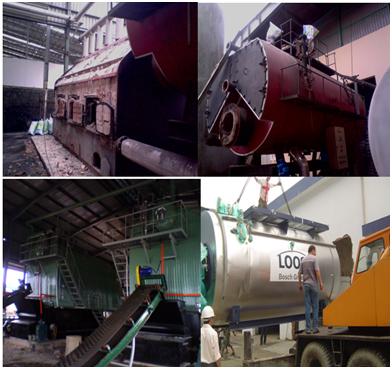 Di dời và cải tạo lò hơi - Displace and upgrade boiler