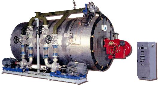 Lò dầu tải nhiệt đốt than - Coal fired   thermal oil heat boiler